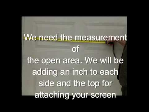 How To Measure For Your Garage Door Screens