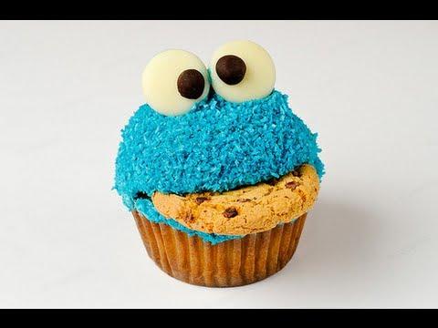 {Recipe} Cookie Monster Cupcake Review! Pinterest, Instagram, Tumblr