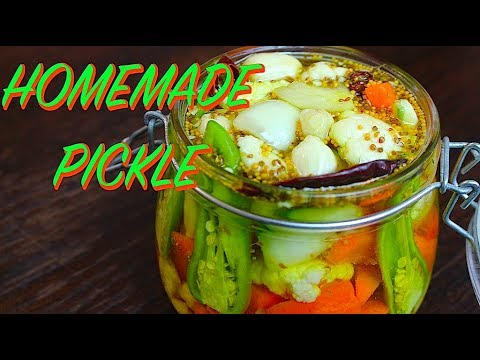 HOMEMADE PICKLE *COOK WITH FAIZA*