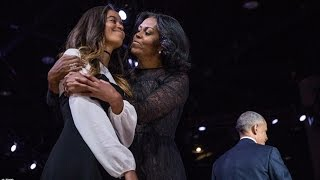Barack Obama Farewell Address - Michelle, Malia, Vice President Joe Biden
