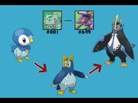 Pokémon: How to Evolve - All Evolution Lines (Generation 1-5)*