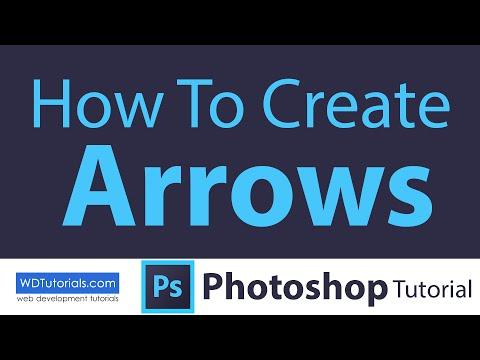 Photoshop CC - How To Create Arrows
