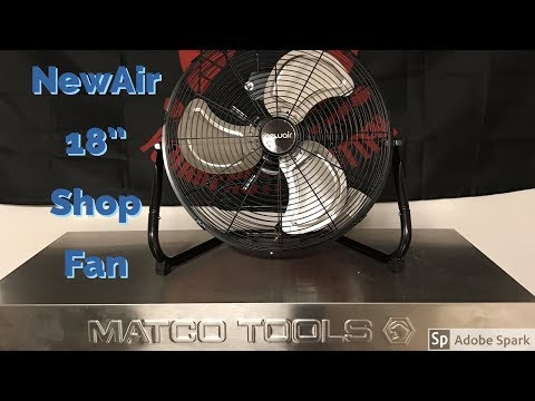 New Shop Fan Review from NewAir