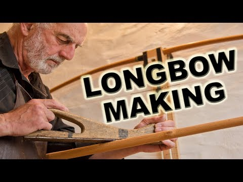 HOW TO MAKE A YEW LONGBOW part 1 `roughing out`
