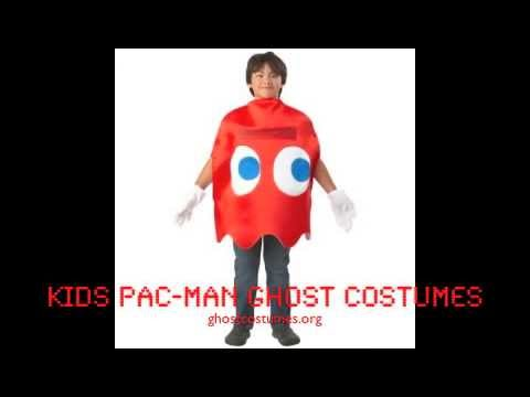 Kids Pac-Man Ghost Costumes