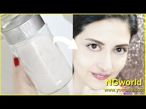 Permanently MILKY WHITEN SKIN Face Wash for FAIR, Spotless, Glowing Skin at HOME  ll NGworld