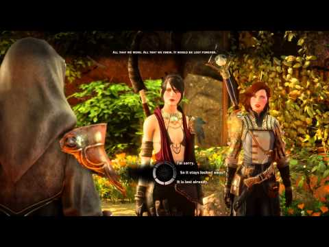 Dragon Age™: Inquisition Battle with Samson. Speaking with Abelas at the Well of Sorrows