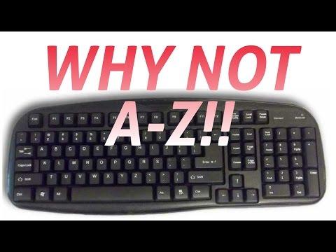 Why keyboard keys aren't in alphabetical order?! Tech Shorts