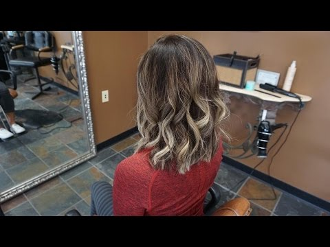 Summer Lob Haircut! -Cut & Color-