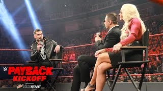 """Miz TV"" with special guest Finn Bálor: WWE Payback 2017 Kickoff"