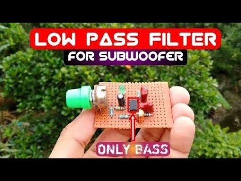 How to Make Low Pass Filter for Subwoofer with 4558D IC DIY  Hindi ElectronicsUnique TechChip