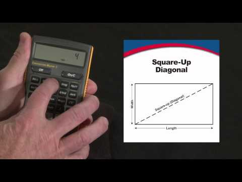 Construction Master 5 Square-up Diagonal How To