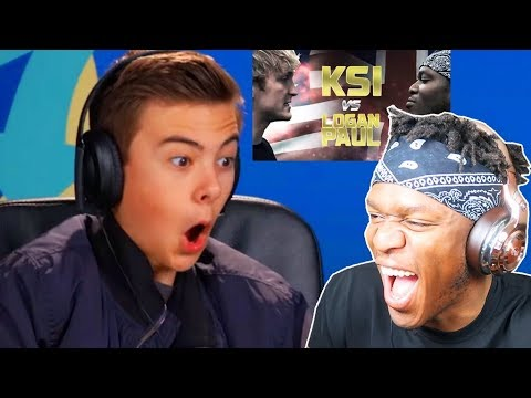 KSI REACTS TO
