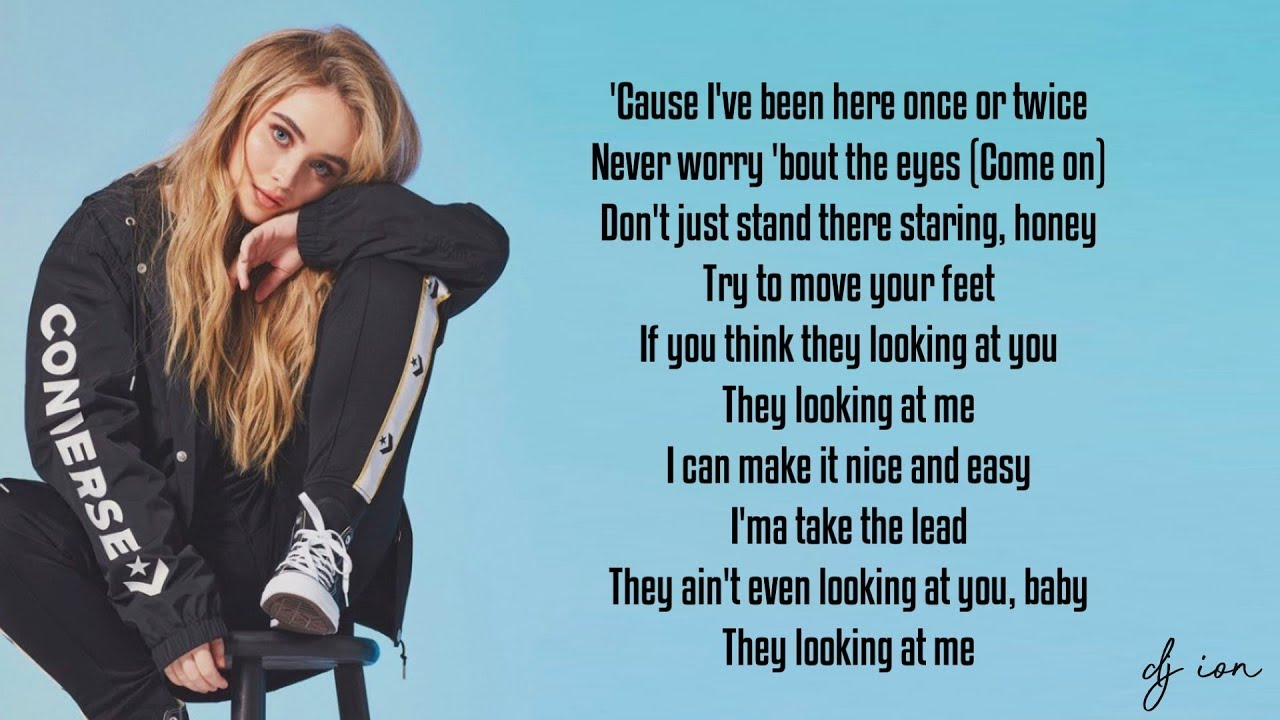 Sabrina Carpenter - Looking at Me (Lyrics)