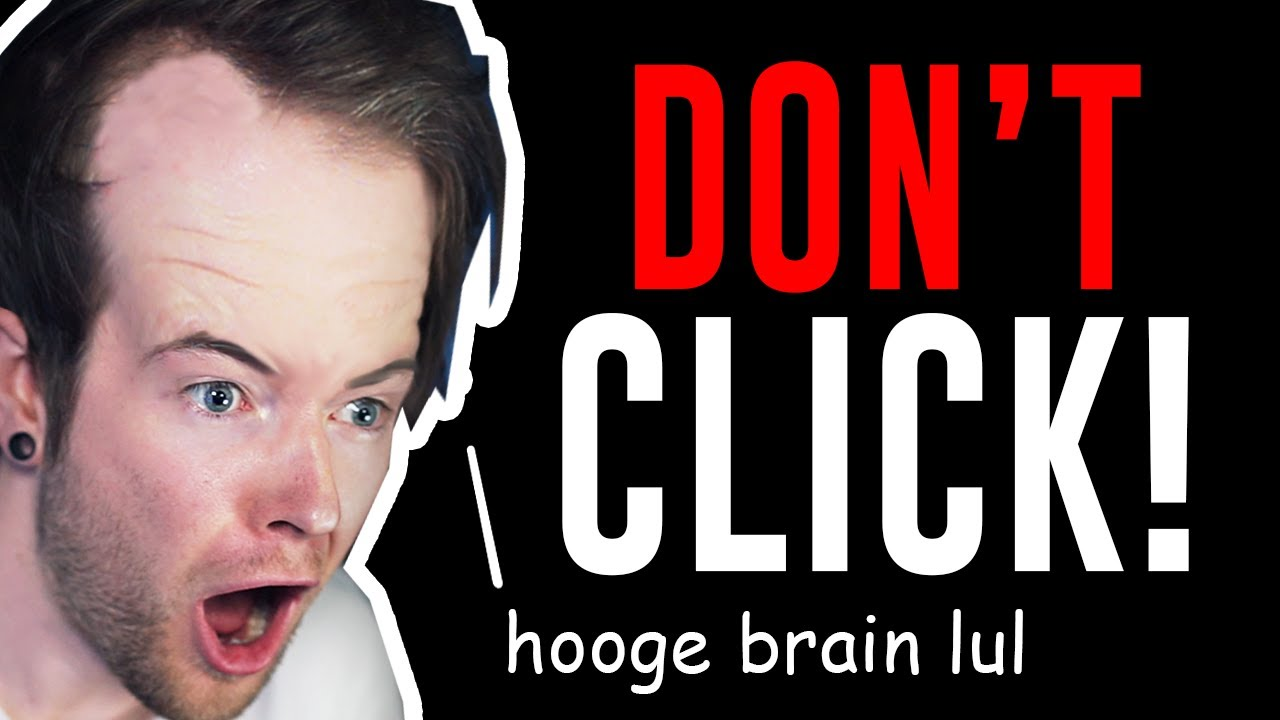 Please Don't Click.. My Brain is Too Big.. (No Game #2)