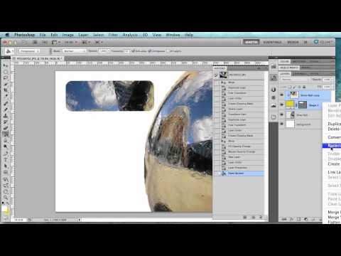 Photoshop Tips #8: Merging and Rasterizing Layer