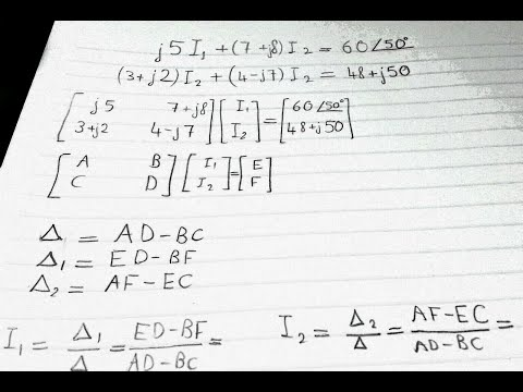 Solving a 2x2 System of Complex Equations Using Casio fx-570ES