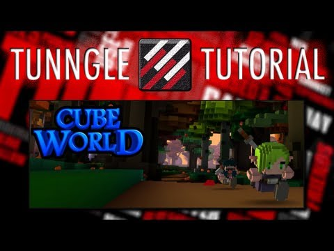 How To Play Cube World Online Using Tunngle