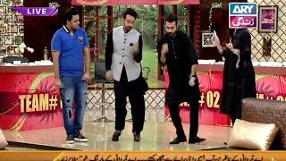 Epic dance performance of Faysal Quraishi along with Aadi & Faizan