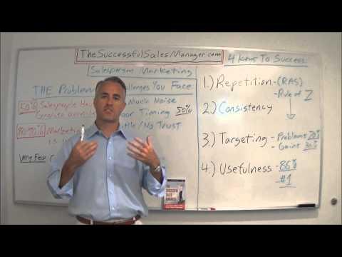 Salesperson Marketing & Personal Brand Management (Sales Effectiveness Strategies)
