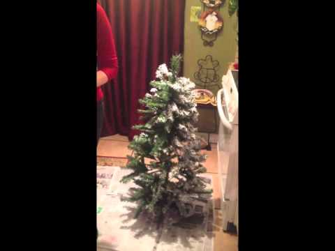 G.A.L. Tips #1 Flocking an Artificial Christmas Tree