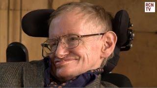 Hawking Premiere Interviews