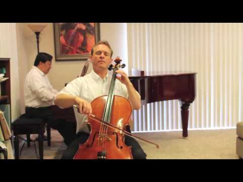 Berceuse from Suzuki Book 3 - Cello Instruction with Kayson Brown