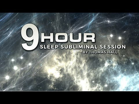 Stop Obsessive Negative Thoughts - (9 Hour) Sleep Subliminal Session - By Thomas Hall