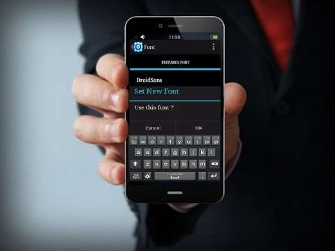 Without App How to Change Default Font Style of Android Phone