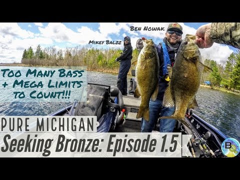 Too Many GIANT Smallmouth to Count: Seeking Bronze Ep. 1.5