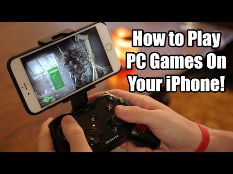 How To Play PC Games on Your iPhone for FREE!