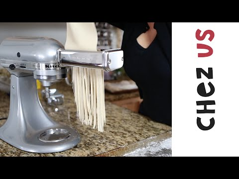 How to make Ramen Noodles at home using your KitchenAid.