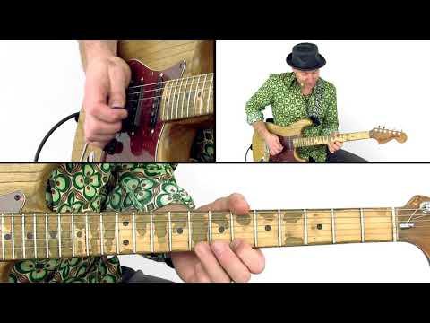 30 Cutting-Edge Blues Licks: #26 Horn Part - Guitar Lesson - Jay-P