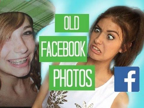 REACTING TO OLD FACEBOOK PHOTOS