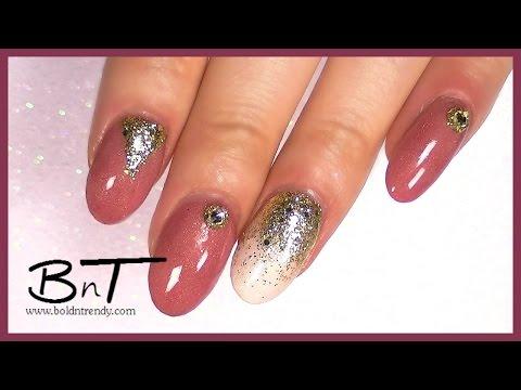 Natural Acrylic Nails - Design Change - Acrylic Overlay (E040)
