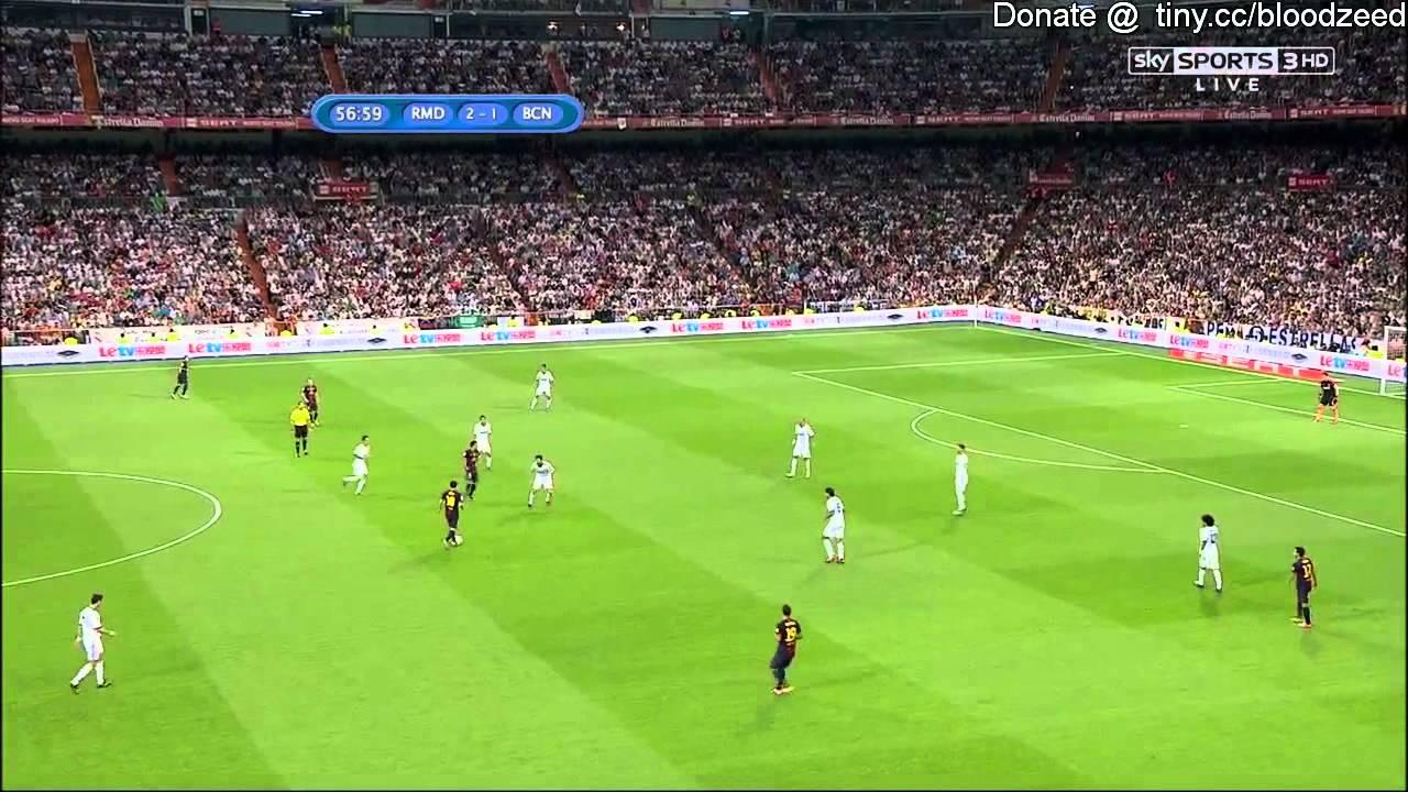 [西班牙超級杯次回合]2012/8/30 皇家馬徳里 對 巴塞隆拿