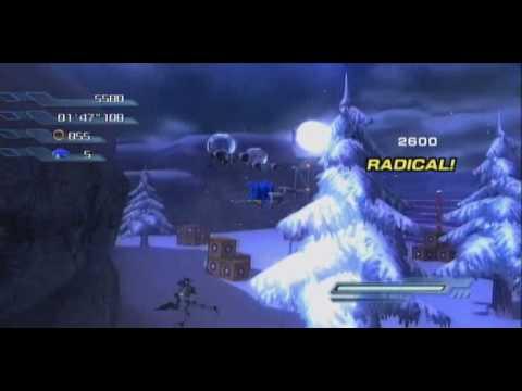 Xbox360 - Sonic the Hedgehog 2006: Sonic Act 3 White Acropolis