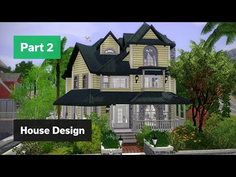 The Sims 3 House Building - Mango Heights - Part 2