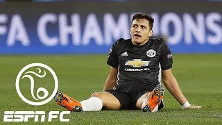 On Alexis Sanchez with Manchester United: