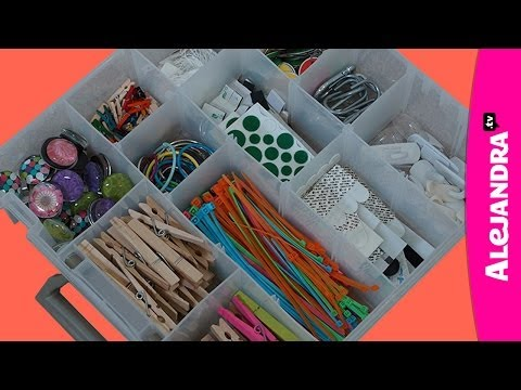 How to Organize Small Things (Part 8 of 9 Home Office Organization Series)