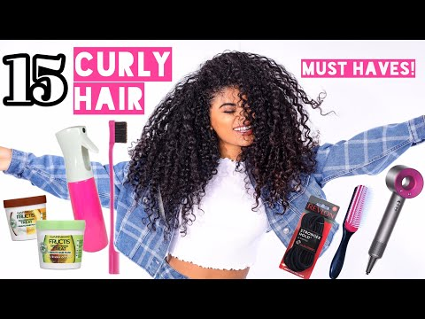 15 CURLY HAIR MUST HAVES! | jasmeannnn