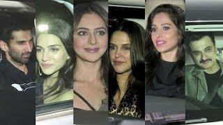 Siddharth Malhotra Grand 34th Birthdy Celebration With All Bollywood Celebs Full HD video