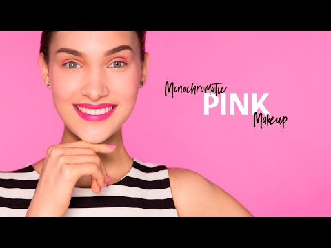 Play, Experiment, Transform with Monochromatic Pink Makeup