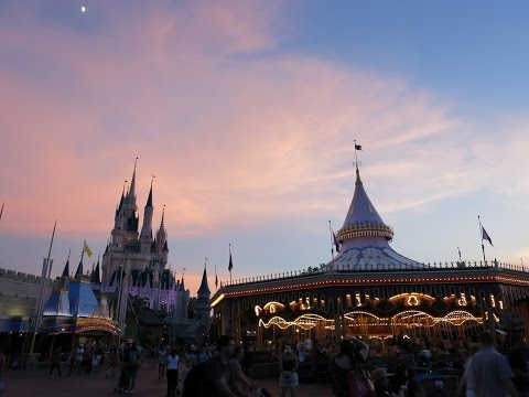 Disney's Pop Century getaway Part 1 August 23, 2015 Magic Kingdom