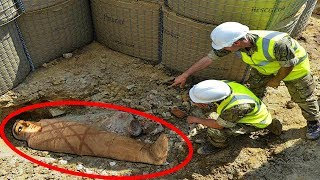 Top 15 Mysterious Things Found During Construction
