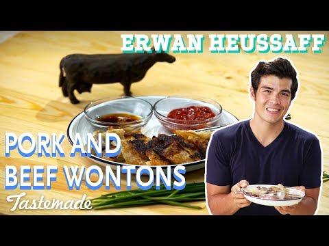 Pork and Beef Wontons I Erwan Heussaff