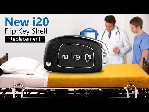 New i20 Flip Key Shell Replacement