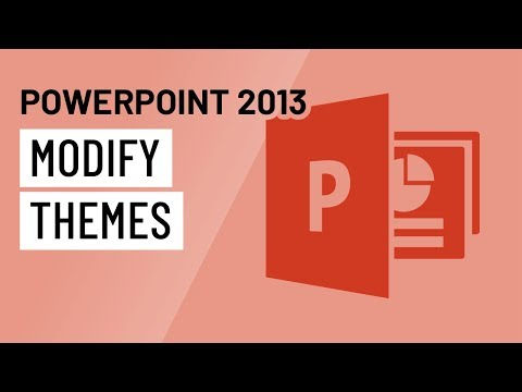 PowerPoint 2013: Modifying Themes