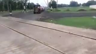 Largest train  in  India funny video ..