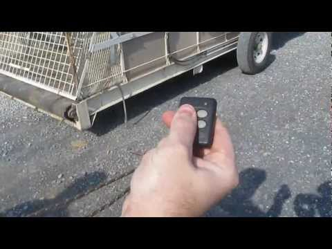 Remote trailer controls